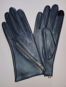 zipped glove
